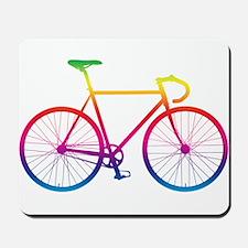 Road Bike - Rainbow Mousepad