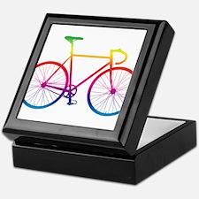 Road Bike - Rainbow Keepsake Box