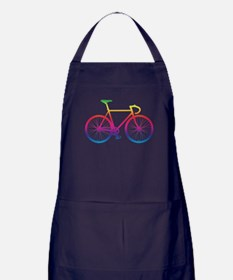 Road Bike - Rainbow Apron (dark)