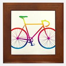 Road Bike - Rainbow Framed Tile