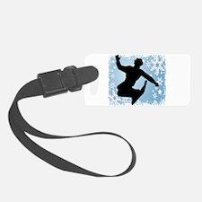 SNOWBOARDING (Blue) Luggage Tag