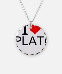 I Love Plato Necklace