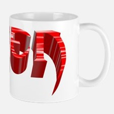 """Alien"" Red Stripe Mug"