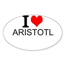 I Love Aristotle Decal