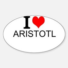 I Love Aristotle Decal