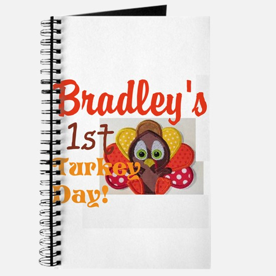 childs personalize turkey day Journal
