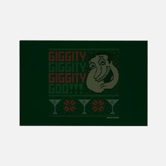 family guy quagmire ugly christma Rectangle Magnet