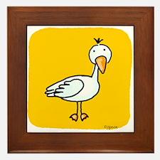 Little Goose Framed Tile