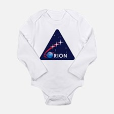 Unique Spacecraft Long Sleeve Infant Bodysuit