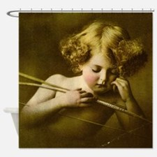 Cupid Asleep Shower Curtain
