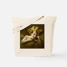 Cupid Asleep Tote Bag