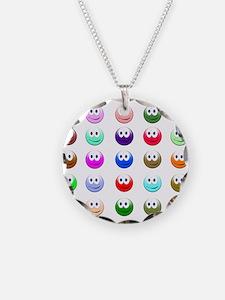 Unique Smiley face emoticon Necklace