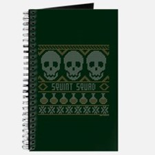 bones ugly christmas Journal