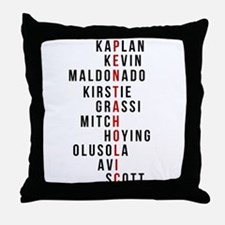 Funny Fandom Throw Pillow