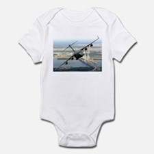 America's Gateway to the Worl Infant Bodysuit