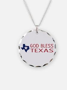 God Bless Texas Necklace
