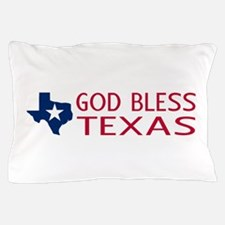 God Bless Texas Pillow Case
