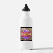 ISRAEL LIGHT OF MY WOR Water Bottle