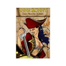 Anne Bonny: Pirate Queen Rectangle Magnet