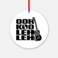 Ooh Koo Leh Leh Round Ornament