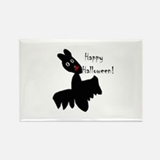 Happy Halloween Bat Rectangle Magnet