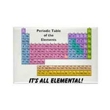 It's All Elemental Rectangle Magnet