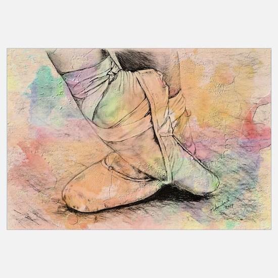 Cute Ballet Wall Art