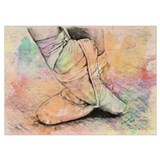 Ballet Wrapped Canvas Art