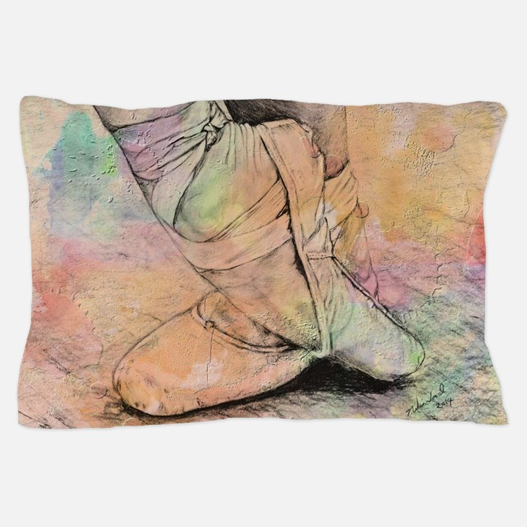 Cute Ballet Pillow Case