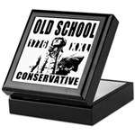 Old School Conservative Keepsake Box