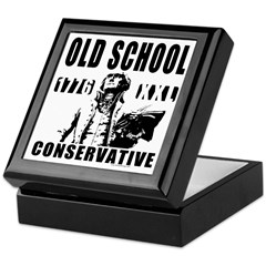 Old School Conservative Keepsake Box