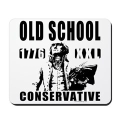 Old School Conservative Mousepad