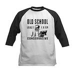 Old School Conservative Kids Baseball Jersey