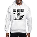 Old School Conservative Hooded Sweatshirt