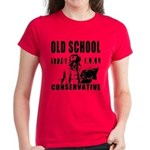 Old School Conservative Women's Dark T-Shirt