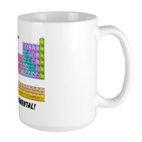 It's All Elemental Large Mug