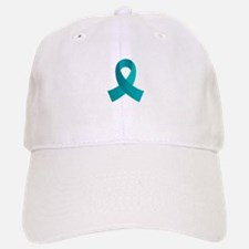 Teal Awareness Ribbon Hat