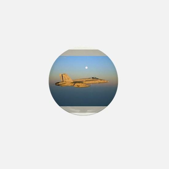 Hornet Sunset Mini Button