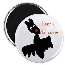 Happy Halloween Bat Magnet