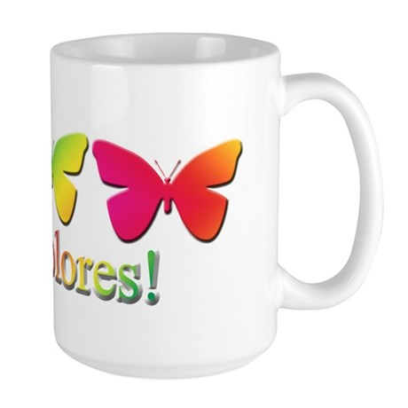 Butterfly DeColores Large Mug