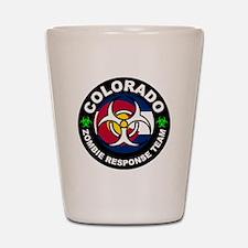 Colorado ZRT White Shot Glass