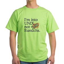 UNIX not Eunuchs T-Shirt