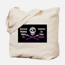 Asexual Pirate Flag Tote Bag
