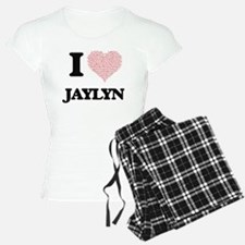 I love Jaylyn (heart made f Pajamas