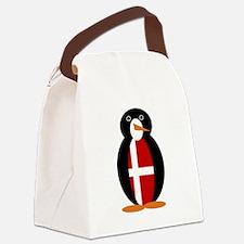 Penguin of Denmark Canvas Lunch Bag