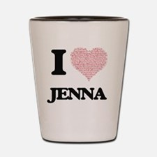 Cute Jenna Shot Glass