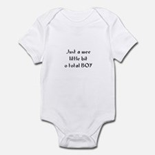 Just a wee little bit o total Infant Bodysuit