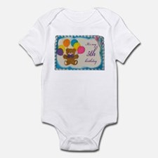 Boy 5th Birthday Infant Bodysuit
