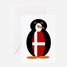 Penguin of Denmark Greeting Cards