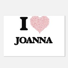 I love Joanna (heart made Postcards (Package of 8)